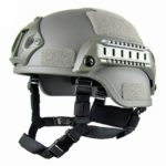 Tactical Helmet Outdoor Tactical Painball Riding Protect Equipment(Gray)