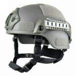 Tactical Helmet Outdoor Tactical Painball Riding Protect Equipment(Gray)
