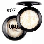 UBUB 3 PCS Professional Nude eyeshadow palette makeup matte Eye Shadow(07 White gold)