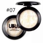 UBUB 3 PCS Professional Nude eyeshadow palette makeup matte Eye Shadow(07 White gold)