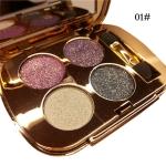 Professional  Eye Makeup Eyeshadow Palette Gold Smoky Cosmetics Makeup Palette Diamond Bright Glitter Eye Shadow(1)