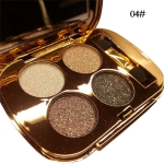 Professional  Eye Makeup Eyeshadow Palette Gold Smoky Cosmetics Makeup Palette Diamond Bright Glitter Eye Shadow(4)