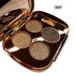 Professional  Eye Makeup Eyeshadow Palette Gold Smoky Cosmetics Makeup Palette Diamond Bright Glitter Eye Shadow(8)