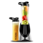 Electric Juicer Food Mixer Automatic Fruit Vegetable Citrus Juice Extractor(Black)