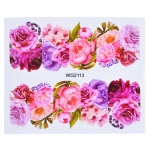10 PCS Flower Nail Art Decals(WG2113)