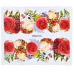 10 PCS Flower Nail Art Decals(WG2114)