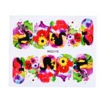 10 PCS Flower Nail Art Decals(WG2115)