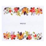 10 PCS Flower Nail Art Decals(WG2123)