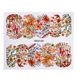 10 PCS Flower Nail Art Decals(WG2124)