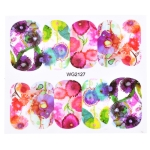 10 PCS Flower Nail Art Decals(WG2127)