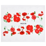 10 PCS Flower Nail Art Decals(WG2128)
