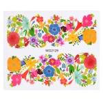 10 PCS Flower Nail Art Decals(WG2129)