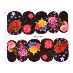 10 PCS Flower Nail Art Decals(WG2134)