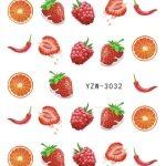 10 PCS Nail Water Sticker Cartoon Design Slider Nail Art(YZW-3032)