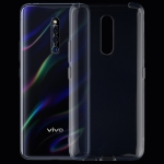 0.75mm Ultrathin Transparent TPU Soft Protective Case for Vivo X27 Pro