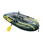 INTEX 68347 Inflatable Rowing Boat for 2 people with Oars&Pump, Size: 236x114x41cm