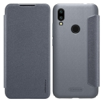 NILLKIN Frosted Texture Horizontal Flip Leather Case for Xiaomi Redmi 7 (Grey)