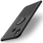 Shockproof TPU Protective Case for Xiaomi Mi Max 3, with Holder (Black)