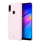 DUX DUCIS Skin Lite Series Ultra-thin Shockproof PU Case for Xiaomi Redmi 7 / Redmi Y3 (Pink)