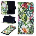3D Colored Drawing Banana Leaf Pattern Horizontal Flip Leather Case for Xiaomi Redmi Note 7 / Redmi Note 7 Pro, with Holder & Card Slots & Wallet