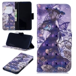 3D Colored Drawing Peacock Pattern Horizontal Flip Leather Case for Xiaomi Redmi Note 7 / Redmi Note 7 Pro, with Holder & Card Slots & Wallet