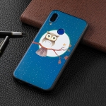 Embossed Painted Eagle on The Tree Pattern TPU Case for Xiaomi Redmi Note 7 / Redmi Note 7 Pro