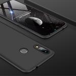 GKK Three Stage Splicing Full Coverage PC Case for Xiaomi Redmi 7 / Redmi Y3 (Black)