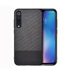 Shockproof Splicing PU + Cloth Protective Case for Xiaomi Mi 9 (Black)