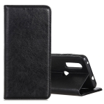 Magnetic Crazy Horse Texture Horizontal Flip Leather Case for Xiaomi Redmi 7, with Holder & Card Slots & Wallet (Black)