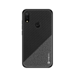 PINWUYO Honors Series Shockproof PC + TPU Protective Case for Xiaomi Redmi 7 (Black)