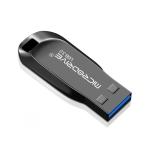 MicroDrive 64GB USB 3.0 Fashion High Speed Metal Rotating U Disk (Black)