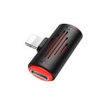 Borofone BV6 Lightning Digital Audio Mini Converter (Black)