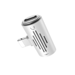 Borofone BV6 Lightning Digital Audio Mini Converter (White)