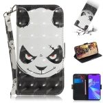 3D Colored Drawing Angry Bear Pattern Horizontal Flip Leather Case for Asus Zenfone Max (M2) ZB633KL, with Holder & Card Slots & Wallet