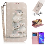 3D Colored Drawing Squirrels Pattern Horizontal Flip Leather Case for Asus Zenfone Max (M2) ZB633KL, with Holder & Card Slots & Wallet