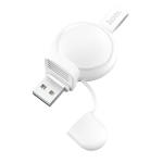 hoco CW19 Universal Portable Wireless Charger for Apple Watch Series 4 & 3 & 2 & 1(White)
