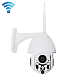 HD Network Video Camera WiFi IP Camera, Support SD Card (128GB Max) (White)