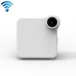 CAMSOY C1+ HD 720P 140 Degree Wide Angle Portable Sports Small Camera Shape Wireless Intelligent Network Surveillance Camera (White)