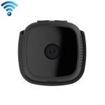 CAMSOY C9 HD 1280 x 720P 70 Degree Wide Angle Wireless WiFi Wearable Intelligent Surveillance Camera, Support Infrared Right Vision & Motion Detection Alarm & Loop Recording (Black)