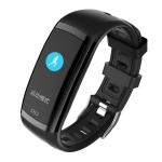 CD09 0.96 inches TFT Color Screen Smart Bracelet IP67 Waterproof, Support Call Reminder / Heart Rate Monitoring / Blood Pressure Monitoring / Sleep Monitoring (Black)