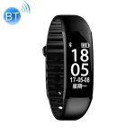 DiDO F9 1.8 inch IP67 Waterproof Bluetooth Smartwatch, Support Blood Pressure Monitoring / Sleep Monitoring / Pedometer (Black)