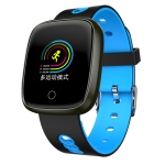 DK03 1.0 inches TFT Color Screen Smart Bracelet IP67 Waterproof, Support Call Reminder /Heart Rate Monitoring /Sleep Monitoring /Multi-sport Mode (Blue)
