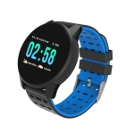KY108 1.3 inches 240×240 Resolution Smart Bracelet IP67 Waterproof, Support Call Reminder /Heart Rate Monitoring /Sleep Monitoring /Blood Pressure Monitoring /Blood Oxygen Monitoring (Blue)