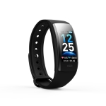 QS90 Plus 0.96 inches TFT Color Screen Smart Bracelet IP67 Waterproof, Support Call Reminder /Heart Rate Monitoring /Sleep Monitoring /Sedentary Reminder (Black)