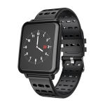 T2 1.3 inches TFT IPS Color Screen Smart Bracelet IP67 Waterproof, Support Call Reminder /Heart Rate Monitoring /Sleep Monitoring /Sedentary Reminder /Blood Pressure Monitoring /Blood Oxygen Monitoring (Black)