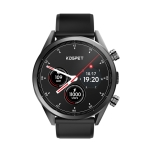 Kospet Hope Lite 4G 1GB+16GB MT6739 IP67 Waterproof 1.39-inch Ceramic bezel Smart Watch with Detachable Silicone Strap, Amoled Display, Support GPS +GLONASS Dual Positoning System& Heart Rate Monitoring