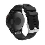Smart Watch Charging Port Silica Gel Anti-dust Stopper Dustproof Plug for Fenix 5 / 5S / 5X(Black)