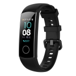 Smart Watch Silicone Wrist Strap Watchband for Huawei Honor Band 4 (Black)