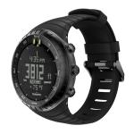 Smart Watch Silica Gel Wrist Strap Watchband for Suunto Core (Black)
