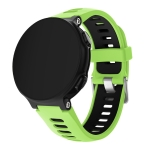 Smart Watch Silica Gel Wrist Strap Watchband for Garmin Forerunner 735XT (Green)